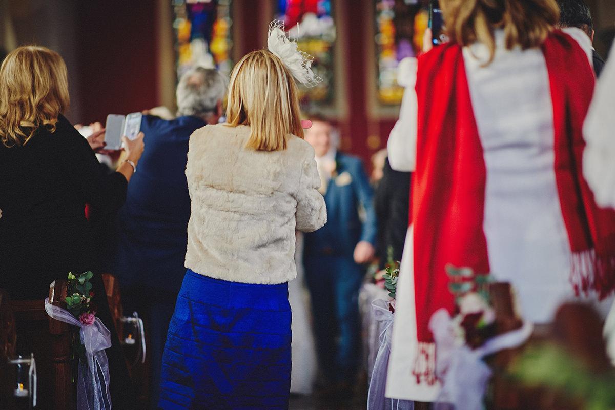 The beauty of unplugged wedding - Irish wedding photographers 2