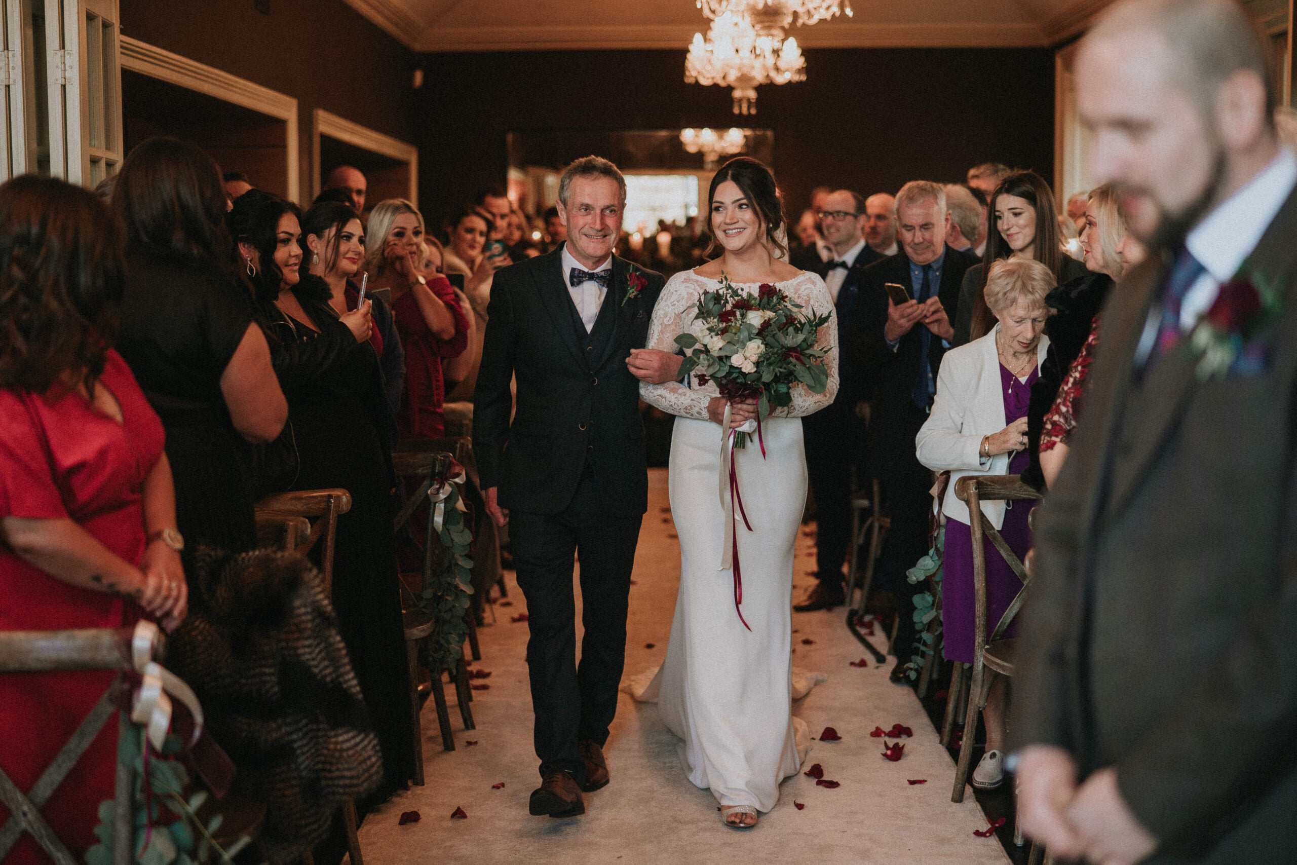 Amy & John - Winter Wedding Day - Virginia Park Lodge 8
