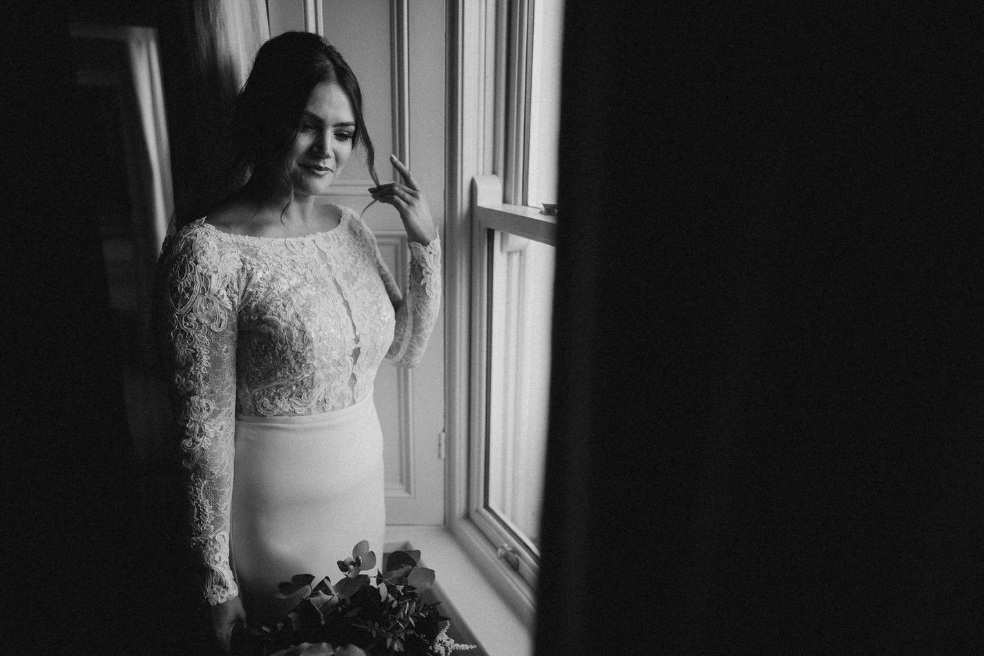 Amy & John - Winter Wedding Day - Virginia Park Lodge 41