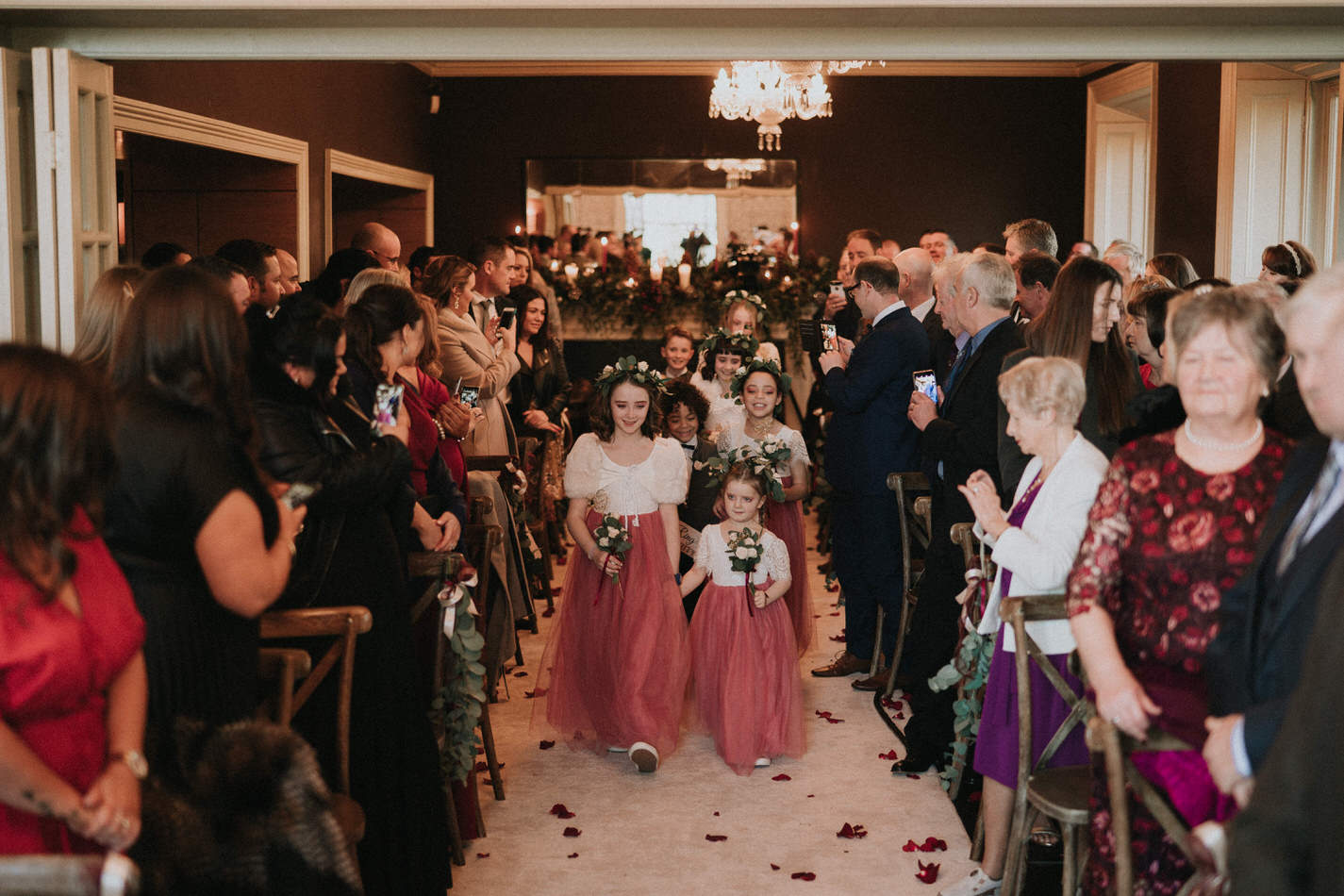 Amy & John - Winter Wedding Day - Virginia Park Lodge 49