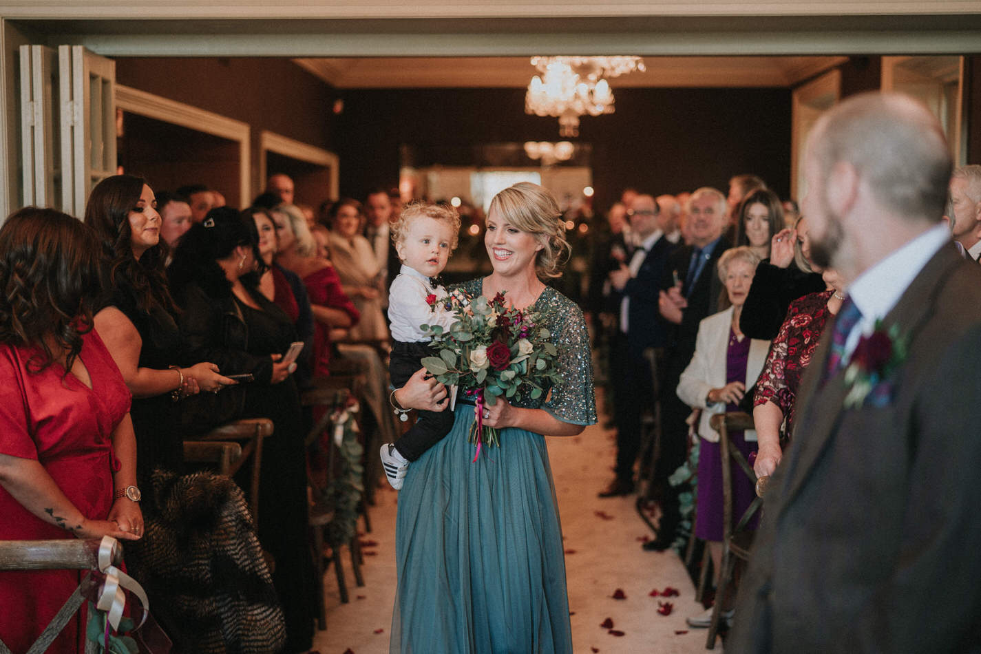 Amy & John - Winter Wedding Day - Virginia Park Lodge 51