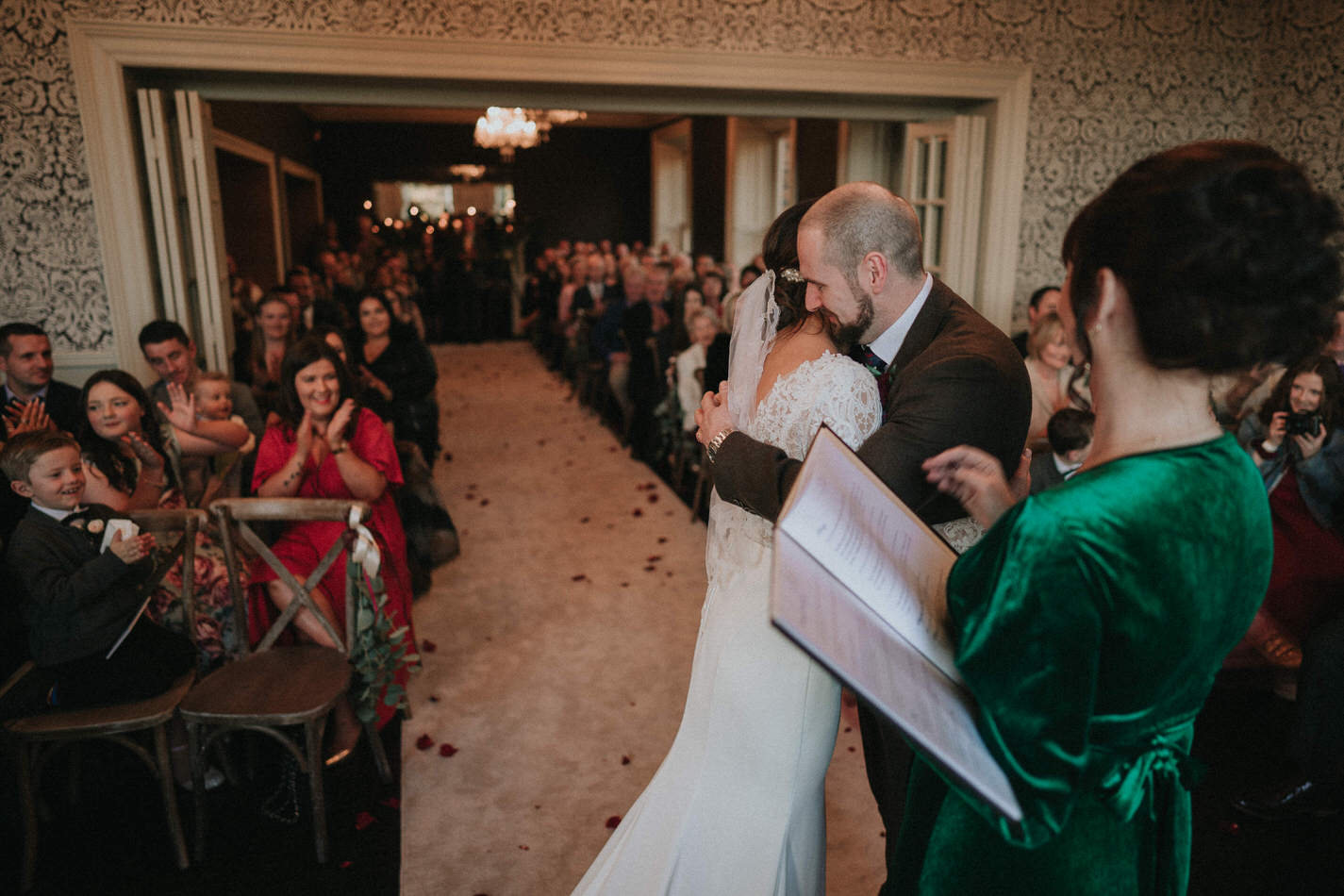 Amy & John - Winter Wedding Day - Virginia Park Lodge 58