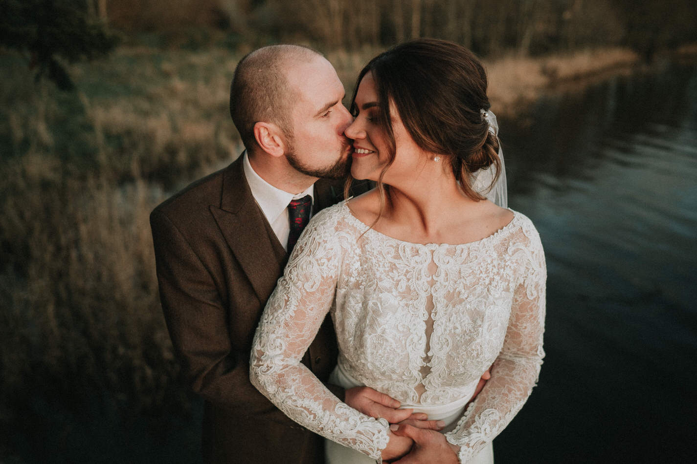 Amy & John - Winter Wedding Day - Virginia Park Lodge 79