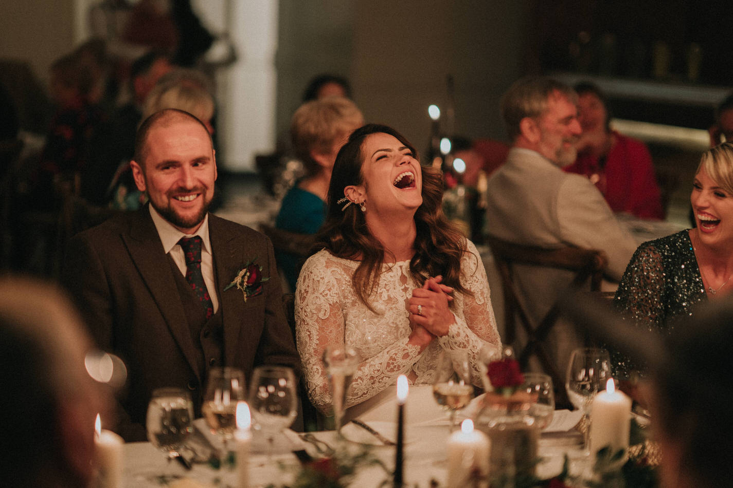 Amy & John - Winter Wedding Day - Virginia Park Lodge 105